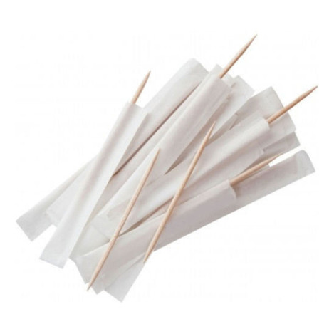 Individually paper wrapped pack toothpick