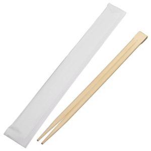 Fully sealed pack twin chopstick