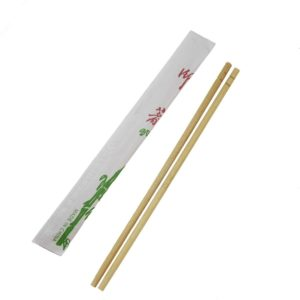 Individual Packed Disposable Round Bamboo Chopsticks