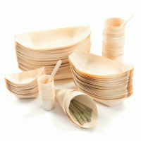 Disposable wood cutlery